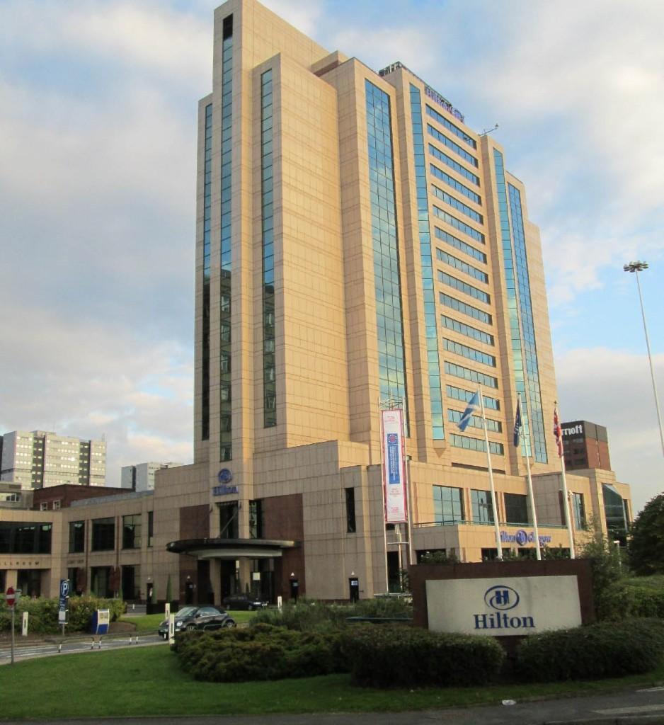 Hilton Glasgow Hotel Exterior