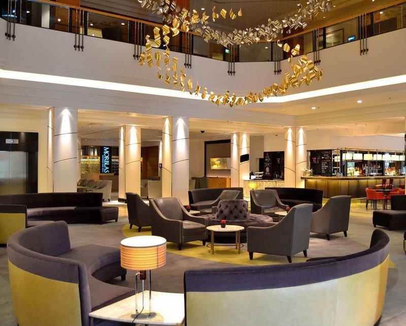 Hilton Glasgow Lobby