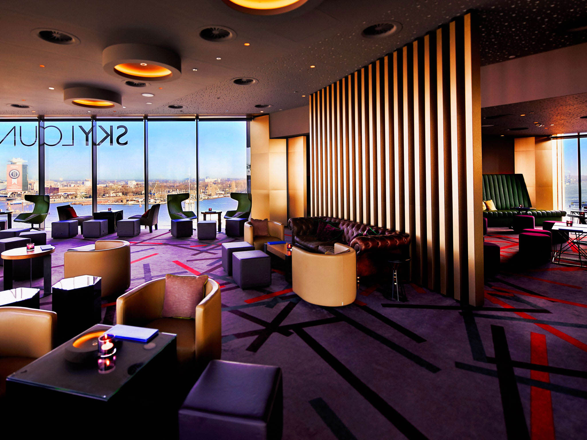 Sky Lounge Doubletree Amsterdam
